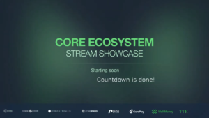 Live Stream Showcase with the founders of the Core Ecosystem